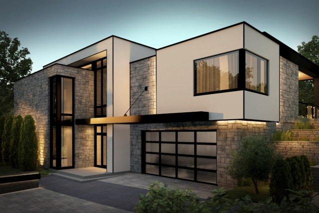 C1Diag-maison-contemporaine - C1diag