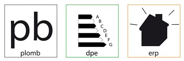 C1 Diag-Icones Diagnostics x3 Plomb-DPE-ERP